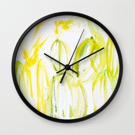 Tequila Plants Wall Clock