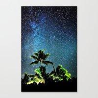 night sky Canvas Prints featuring NigHt SkY  by ''CVogiatzi.