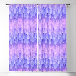 Lavender Slime Blackout Curtain