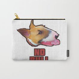 """No Bull"" - English Bull Terrier Design, T Shirt, Mug, etc Carry-All Pouch"