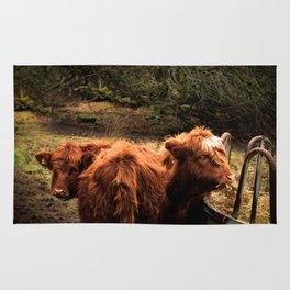 Highland Coos Rug