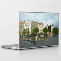 barcelona Laptop & iPad Skins featuring Barcelona by Liesl Marelli