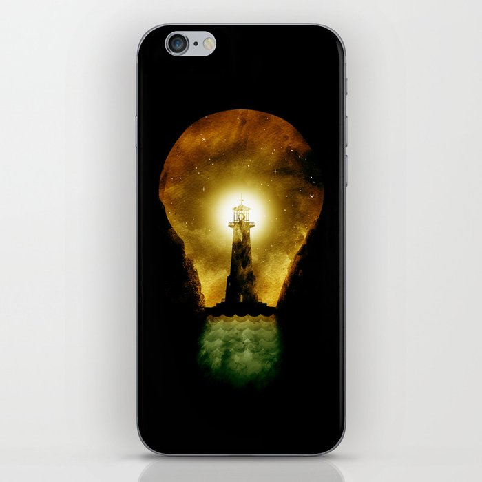 reach for the light iPhone Skin