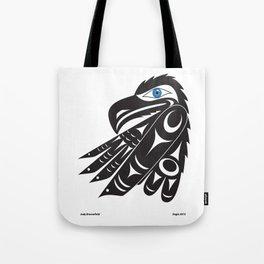 Eagle  by: Jody Broomfield Tote Bag