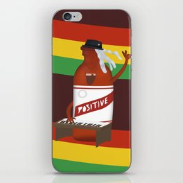 rasta & cheers iPhone Skin