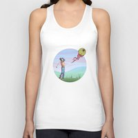 golf Tank Tops featuring Zombie golf by Valentin Cottereau