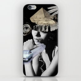 puffed out iPhone Skin