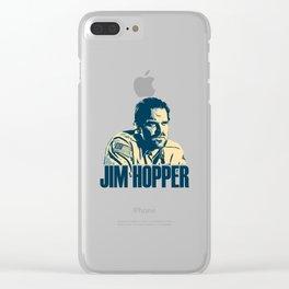 jim hoppe Clear iPhone Case