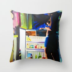 Mid-Summer AC Throw Pillow