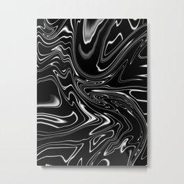 Not so still waters Metal Print