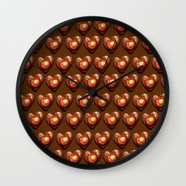 Say It With Chocolate #2 Wall Clock