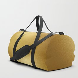 Pure Gold Print Duffle Bag