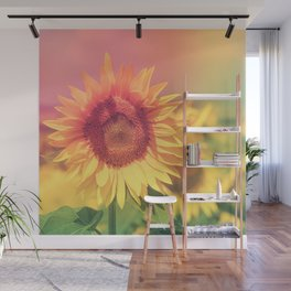 Sunflower Power Wall Mural