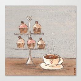Afternoon Tea Art Print Canvas Print