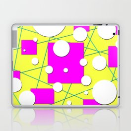 Geo Shape Play in Summertime Colors Laptop & iPad Skin