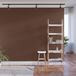 Sunset Stage Right ~ Smooth Chocolate Wall Mural