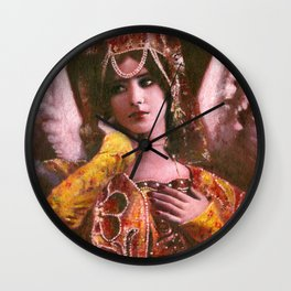 Decorative Vintage Angel Wall Clock