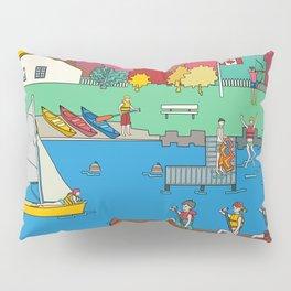 Canoeing Summer Camp Pillow Sham
