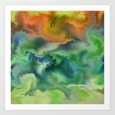 Movement of The Natural World Art Print