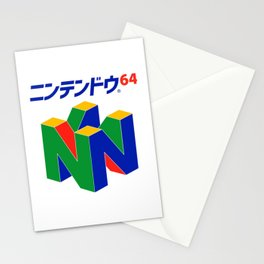 Japanese Nintendo 64 Pullover Stationery Cards
