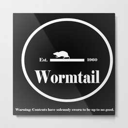 Wormtail Metal Print