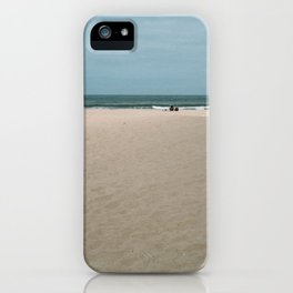 Two at the Beach iPhone Case