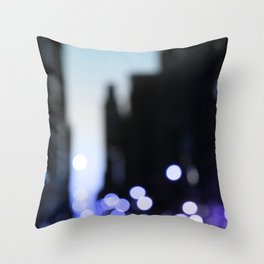 Big lights will inspire you Throw Pillow