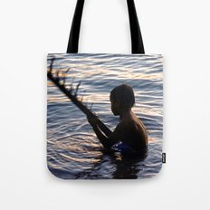 THAILAND - Koh Pangan | Travel | Sea | Children | Nature | Ocean | Dusk | Summer | Photography  Tote Bag