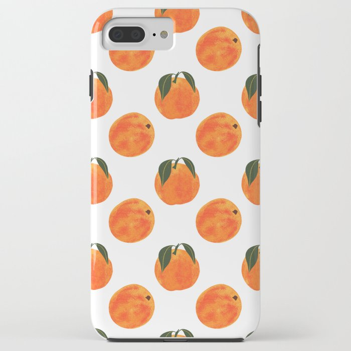 Peach Harvest iPhone Case