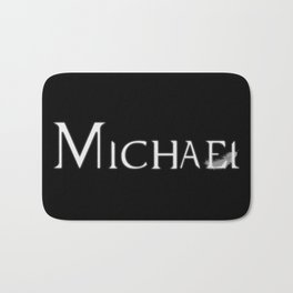 Archangel Michael with Feather Bath Mat