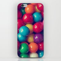 gumball iPhone & iPod Skins featuring Gumball Fun by Amelia Kay Photography