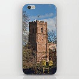 St Botolph's Church Newbold-on-Avon iPhone Skin
