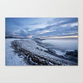 Misty Winter Canvas Print
