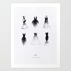 LBD Collection  Art Print