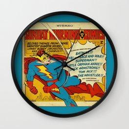 comic pillow Wall Clock