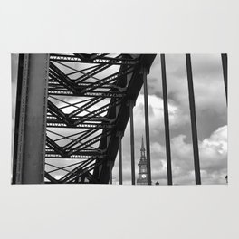 The Bridge - three Rug