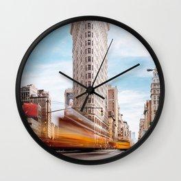 Flatiron Building New York Wall Clock