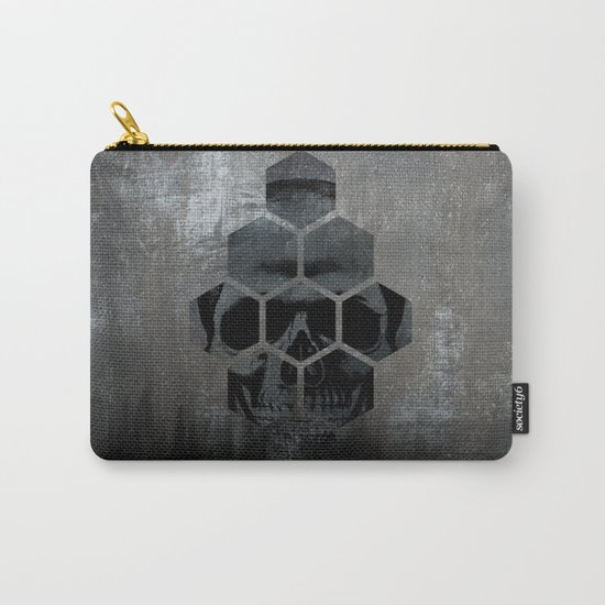Skull texture Carry-All Pouch