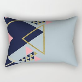 Modern Spring Vibes Rectangular Pillow