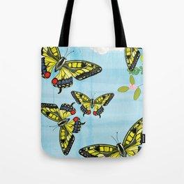 Flutter Away Tote Bag