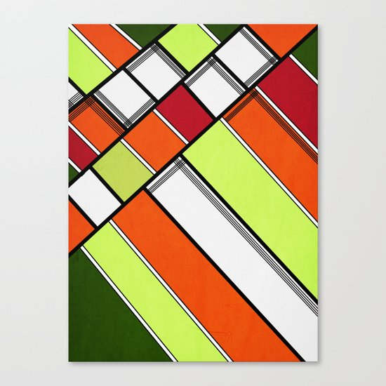 Lined II Canvas Print