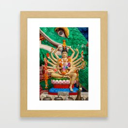 Buddhist Goddess Framed Art Print