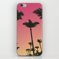 palms iPhone & iPod Skins featuring Palms by Cultivate Bohemia