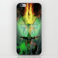 dragon age inquisition iPhone & iPod Skins featuring Inquisition by Lazare Gvimradze