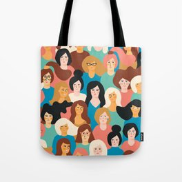 CUTE ALL-OVER WOMENS MARCH PATTERN Tote Bag