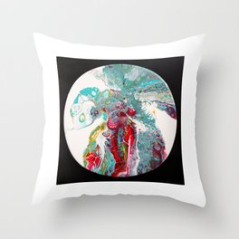 tentacles Throw Pillow