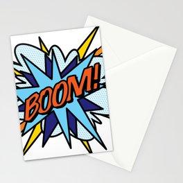 Comic Book Pop Art BOOM Stationery Cards