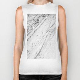 Classic White Marble #2 #decor #art #society6 Biker Tank