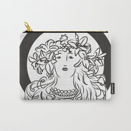 Mucha's Inspiration Carry-All Pouch