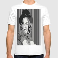 Old Hollywood, Betty Grable Mens Fitted Tee White MEDIUM